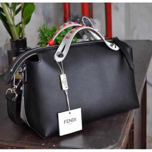 41cc01ecbed0 Женская сумка-саквояж Fendi (Фенди), черный цвет: продажа, цена в ...