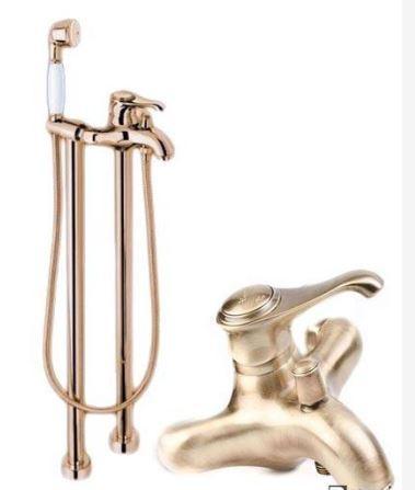 Напольный смеситель для ванной Италия Emmevi 0626