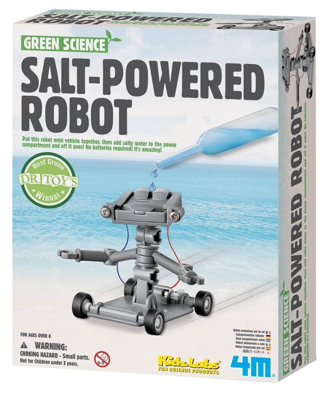 Набор для опытов Робот на энергии соли 4M (00-03353)