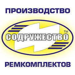 Набор патрубков радиатора Д-65 трактор ЮМЗ-6К (4 шт.)