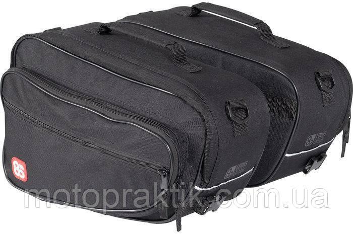 Купить LOUIS 80 SADDLEBAG SET, BLACK, 2X15L Мотосумки текстильные ... b6750ccdedb