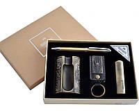 Подарочный набор Moongrass MTD49 Пепельница, шариковая ручка, зажигалка, брелок