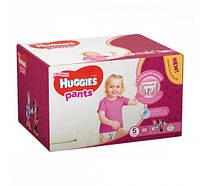 Подгузники-трусики  Huggies  Pants для девочек 5 ,  68 шт.