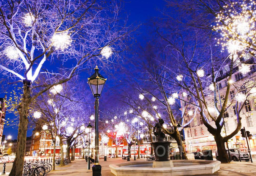 Идеи Новогоднего украшения парков, скверов, площадей, улиц, аллей