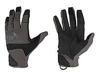 Перчатки тактические Helikon-Tex® Range Tactical Gloves®  - Черные/Темно-серые