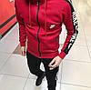 Чоловічий зимовий костюм Найк червоний (ТОП репліка)