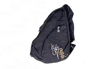 Рюкзак гимнастический GP (100% полиэстр, чёрный)
