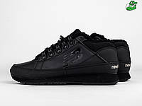 Мужские зимние ботинки New Balance 754, Материал   кожа, Цвет - черный bf9f5bcec09