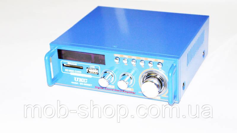 Усилитель звука SN-3636BT USB+SD+FM Bluetooth
