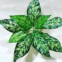 Искусственный куст диффенбахия.Декоративное, комнатное растение.