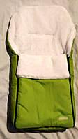 Спальный мешок-конверт на искусственном меху Original № 13 салатовый ( Польша) WOMAR