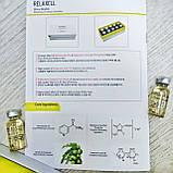 Концентрат омолаживающий с гиалуроновой кислотой 2%, Ниацинамидом 5% и витамином С от Relaxell 5 мл, фото 2
