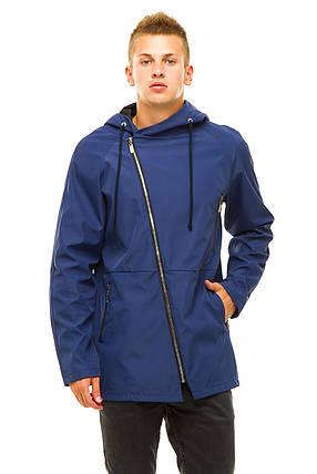 Мужская куртка 347 синяя размер 46, фото 2
