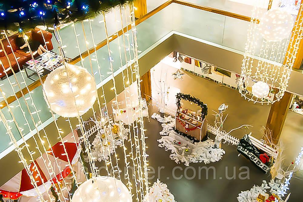 Идеи новогоднего оформления зданий, торговых центров, бизнес-центров, отелей, гостиниц