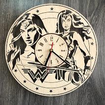 """Годинник настінний """"Чудо-жінка"""" CL-0267"""