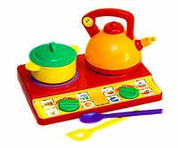 Игровой набор посуды Юная хозяюшка  048/6 Bamsic