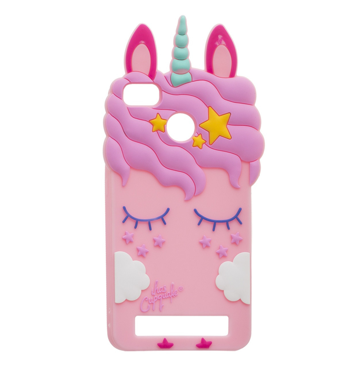 Чехол-накладка TPU Little Pony для Xiaomi Redmi 4X Pink