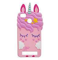 Чехол-накладка TPU Little Pony для Xiaomi Redmi 4X Pink, фото 1