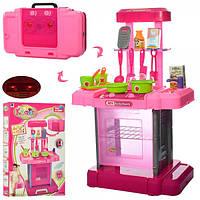 Детская кухня для девочки 661-60 в чемодане