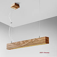 ADLux Neodym NC-100 светильник светодиодный потолочный - люстра из массива дерева, фото 1
