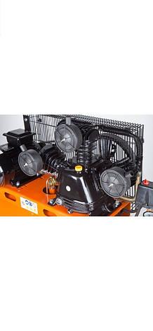 LEX компрессор 200 літрови 3 поршневий , фото 2
