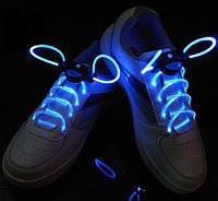 Светящиеся шнурки 1-го поколения Ultralight, синие