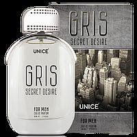 Парфюмированная вода UNICE Secret Desire Gris for Man,100 мл