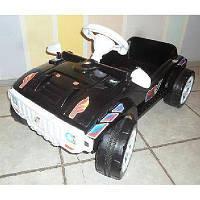 Машинка для катания ПЕДАЛЬНАЯ черная ОРИОН 792