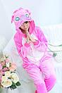 Пижама кигуруми Взрослые и Детские Cтич розовый, фото 2