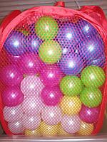 Мячики шарики 80 штук для сухого бассейна, диаметр 7.2. Украина