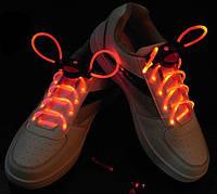 Светящиеся шнурки 1-го поколения Ultralight, красные