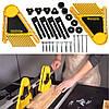 Drillpro Набор многоцелевой перо-доски Двойная доска пера для пилы стола роутера Слот для измерительных приборов митра-1TopShop, фото 4