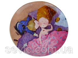 Тарелка декоративная Gapchinska Поцелуй в щечку 20 см 924-333