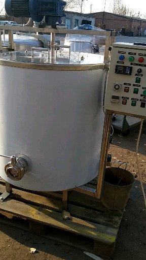 Котел сыроварня кпэ-300 c автоматическим охлаждением