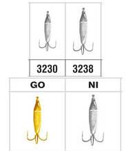3230 Чертик треугольный с кольцом Go (золото)