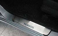 NataNiko Накладки на пороги для DAIHATSU TERIOS II '06- (Комплект 4 шт.) Standart, фото 1