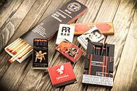 Сірники та запальнички з логотипом