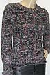 вязаный женский свитер меланж, фото 2