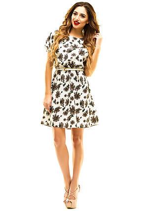 Платье 412  с ремнем размер 42-44, фото 2
