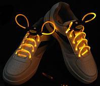 Светящиеся шнурки 1-го поколения Ultralight, желтые