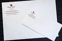 Конверти з логотипом