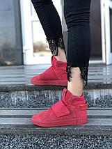 Женские кроссовки adidas Tubular invader Red, фото 2