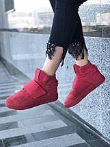 Женские кроссовки adidas Tubular invader Red, фото 3