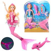 """Кукла BLD078 """"Русалочка"""", с дельфином 40 см"""