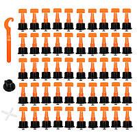 50шт.ПластикКерамическийПлиткавыравнивательНабор Плитка выравнивающий локатор Т системы выравнивания комплекты Плитка Spacers 1TopShop
