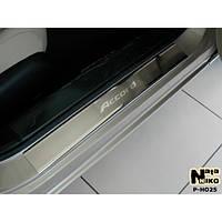 NataNiko Накладки на пороги для HONDA Accord IX '12- (Комплект 4 шт.) Standart, фото 1