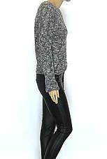 В'язаний жіночий светр колір меланж Papin ( Туреччина ), фото 3