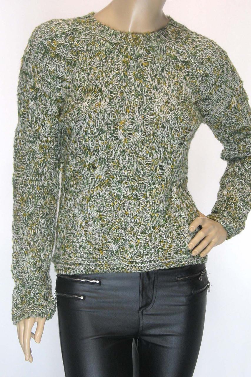 В'язаний жіночий светр колір меланж Papin ( Туреччина )