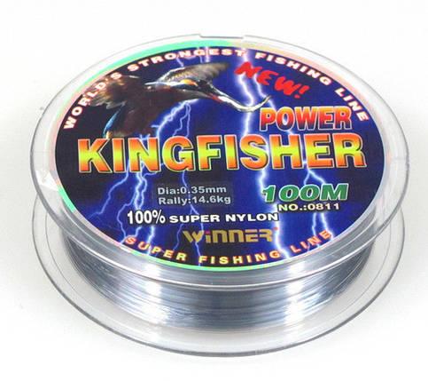 Леска winner Кingfisher 0,18mm 100m, фото 2