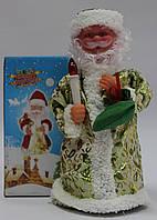 Дед мороз музыкальный, 23 см, песня, светлый цвет, фото 1